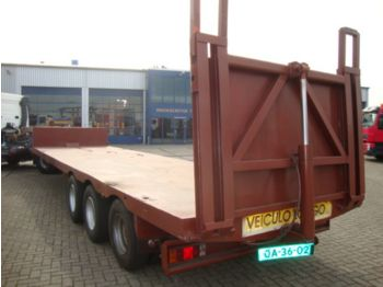 Ackermann 3axel steelsprings low loader - nizko noseča polprikolica