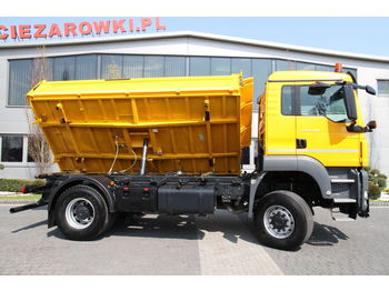 MAN TRUCK FOR WINTER MAINTENANCE TGS 18.400 MEILLER-KIPPER 4×4 - tovornjak prekucnik