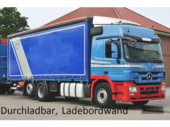Mercedes-Benz 2544 Actros Plane, Ladebordwand, LBW  - tovornjak s ponjavo