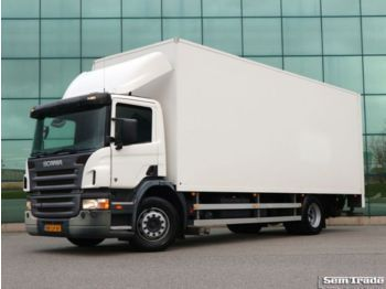 Tovornjak zabojnik Scania P230 EURO 3 CLOSED BOX TAIL LIFT