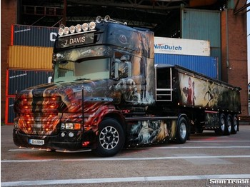 Scania SCANIA T580 TOPLINE TORPEDO SPECIAL SHOW TRUCK ONE OF A KIND - vlačilec