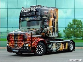 Scania T580 TOPLINE TORPEDO SPECIAL SHOW TRUCK ONE OF A KIND - vlačilec